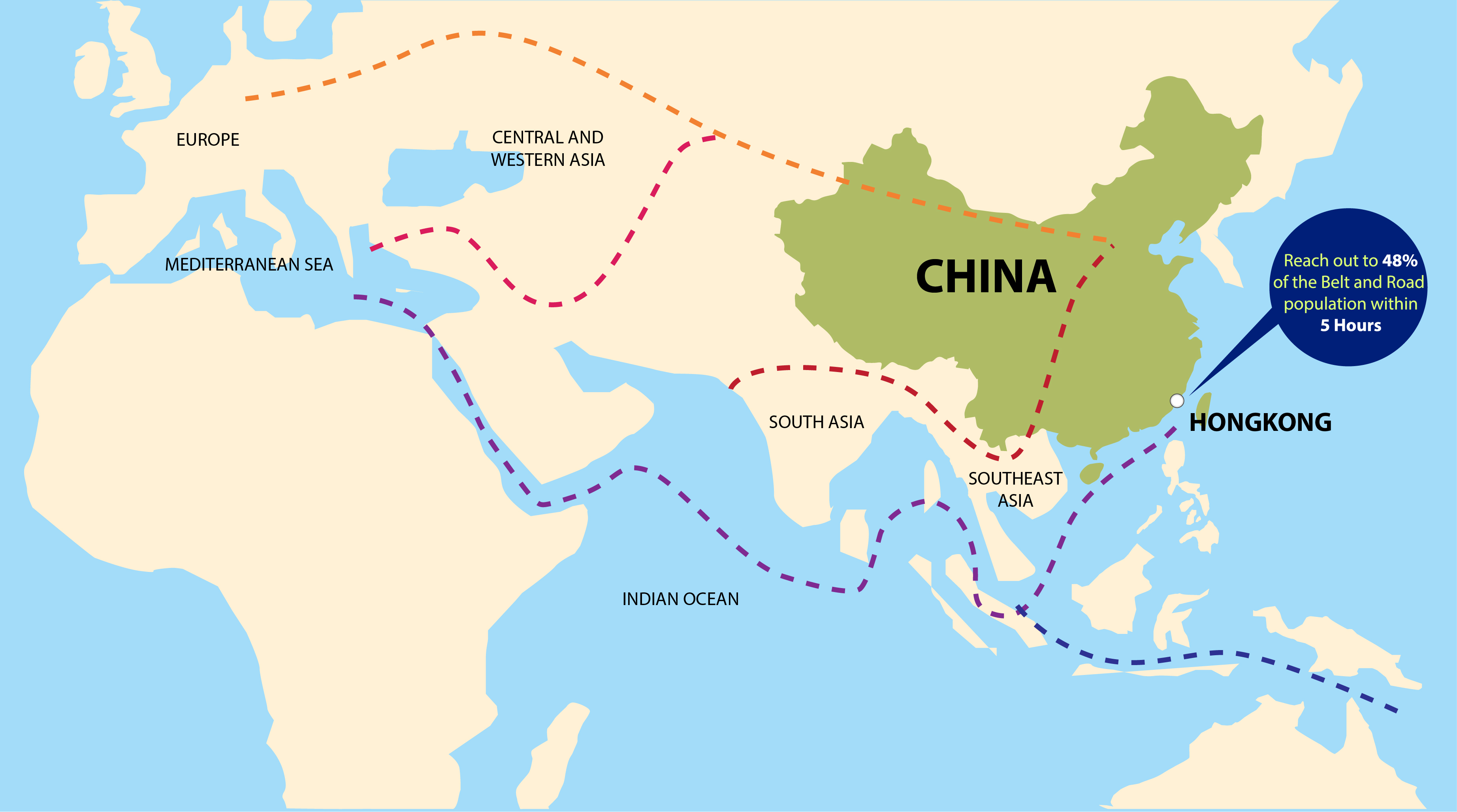 Map Of China In Asia.Trillions China Fills The Vacuum Left By The West