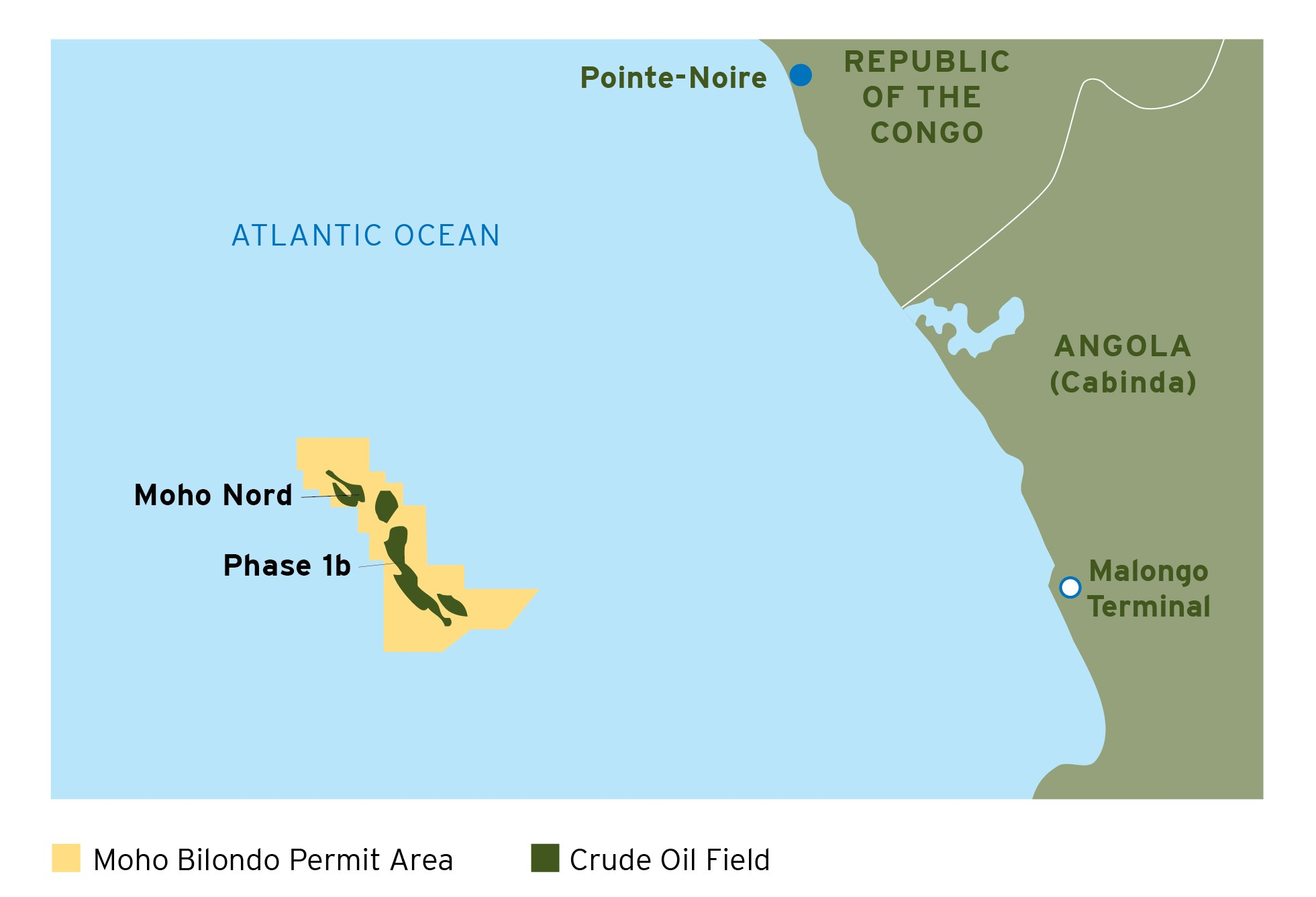 Oil Production Begins From Moho Bilondo Phase 1b Offshore the