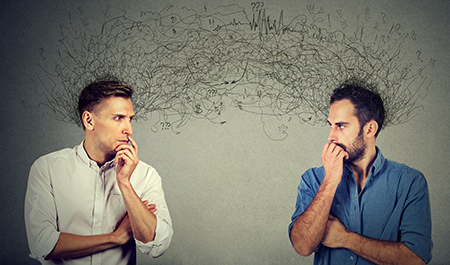 Telepathy is very real. Image: pathdoc / shutterstock.com