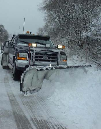 Truck Mounted Snow Plow