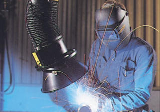 Welding fume extraction